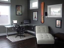 furniture elegant home office design with eurway and ceiling comfortable lounge chair with eurway and cozy dark pergo flooring plus beige shag rug for exciting