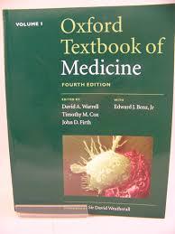 david cox oxford textbook of medicine volume 1 by warrell david cox