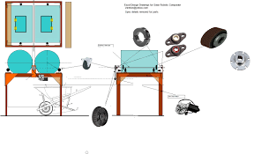 solar robotic dual 55 gallon drum composter vex lancer bots