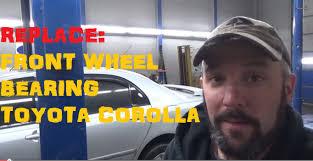 Http Strictlyforeign Biz Replace Front Wheel Bearing Toyota