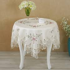 table cloth hot european table cloth lace flower embroidery
