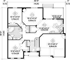 traditional style house plan 1 beds 1 00 baths 1566 sq ft plan