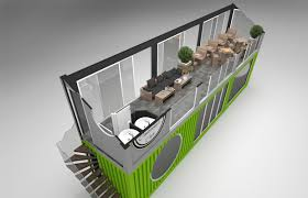 cafe container design cas