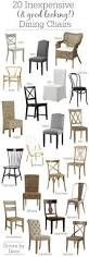 Affordable Armchairs 20 Inexpensive Dining Chairs That Don U0027t Look Cheap Driven By