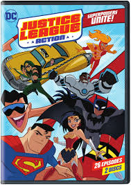 Hit The Floor Dvd - justice league action season 1 part 1 coming to dvd october 10 2017