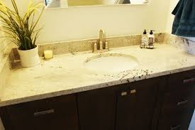 Bathroom Countertop Cabinet How To Decorate A Bathroom Without Clutter