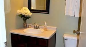 delightful dark brown wooden bathroom vanity ideas s flooring plus