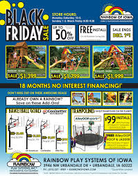 black friday trampoline black friday sale rainbow of iowa