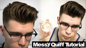 mens voluminous quiff hairstyle tutorial 2016 feat cameron cretney