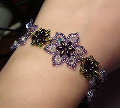 beaded rose bracelet images 46 beaded flower bracelet tutorial 1000 images about bead flowers jpg