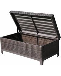 Patio Storage Ottoman Shopping Deals On Patioroma Outdoor Patio Aluminum Frame