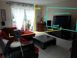 distance ecran videoprojecteur canapé projet d installation vidéoprojecteur vidéoprojecteur tv