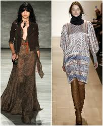 haute boho fall winter fashion trends