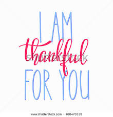 thank you friendship family positive quote stock vector 468470339