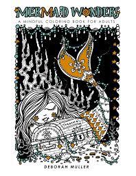 mermaid wonders mindful coloring book adults u2013 idw publishing