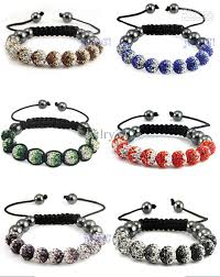 shamballa bracelet jewelry images Shamballa bracelet men jewelry 10mm gradient colors micro pave cz jpg