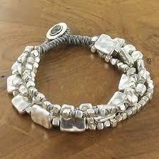 metal bead bracelet images Stone and bead bracelet sterling silver jewellery charm jpg