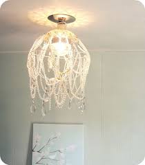 Shabby Chic White Chandelier 25 Fantastic Diy Chandelier Ideas And Tutorials Hative