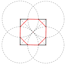 Picture Of Octagon Construction Of A Regular Octagon