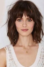 Frisuren Mittellange Haar Braun by Frisuren Mittellange Haare Rundes Gesicht Trends Frisure