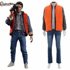 back to the future costume cosplaydiy back to the future marty mcfly costume