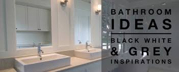 black and white bathroom images black and white bathrooms design
