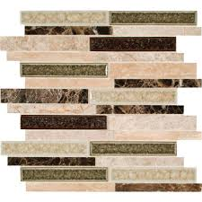 multi surface mosaic tile tile the home depot