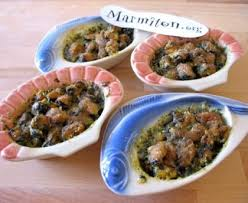 comment cuisiner des moules congel馥s gratin de moules persillées recette de gratin de moules persillées