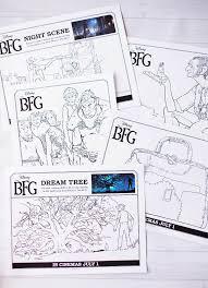 bfg printable bookmarks coloring u0026 activity pages u2014