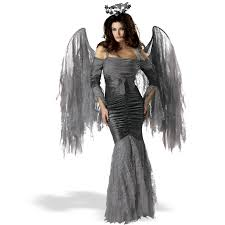 spirit halloween alexandria la angel of darkness costume angel of death costume dress