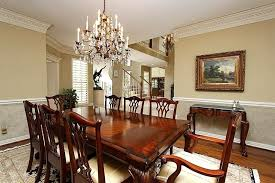 Formal Dining Room Chandelier Butter Yellow Wall Color With Excellent Formal Chandelier Using