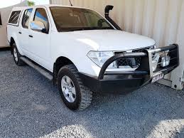nissan turbo diesel nissan navara d40 st x dual cab 2007 white used vehicle sales