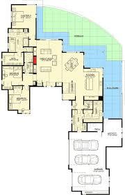 1st Floor Master House Plans Plan 54224hu Gabled Entry Mountain Modern House Plan Mountain
