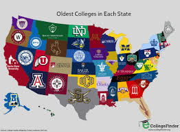 University Of Arkansas Campus Map Map The Oldest College In Every State Business Insider