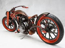 2016 yamaha xvs1300 custom wallpapers custom orange chopper wallpaper ibackgroundwallpaper