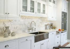 backsplash for white kitchen 4 white calacatta gold marble subway white countertop idea