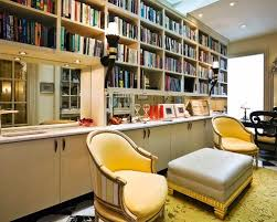 Home Office Library Design Ideas Alluring Decor Inspiration W H P - Home office library design ideas
