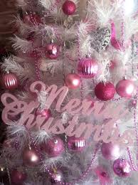 merry christmas in pink bebe u0027 love this tree decorated in