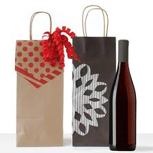 wine bottle gift bags make a last minute gift wine gift bag
