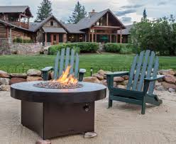 Patio Table With Built In Fire Pit - fire pits fire tables information and reviews