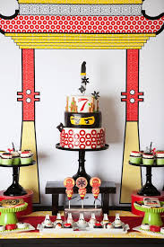 ninjago party supplies kara s party ideas lego ninjago birthday party via kara s