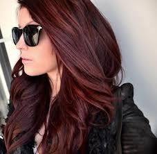 Frisuren Lange Haare Mit Farbe by Die 25 Besten Braune Haare Rote Highlights Ideen Auf