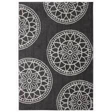 mohawk home area rugs shop mohawk home gray medallions dark taupe rectangular indoor