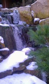 Meyer Aquascapes Waterfall Created By Premier Ponds In Burtonsville Md