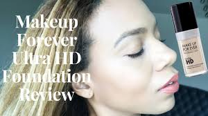 makeup forever ultra hd foundation review daisi jo reviews