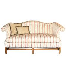 Chippendale Loveseat Chippendale Style Camelback Sofa By Hickory Fry Furniture Co Inc