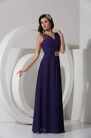 robe violette mariage robe violette longue col v ornée de paillettes pour mariage