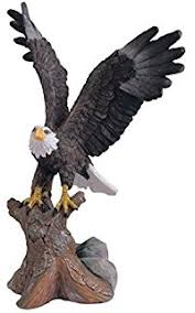 kurt adler 4 inch resin american bald eagle ornament