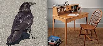 Raven And The Writing Desk Why Is A Raven Like A Writing Desk An Historical Perspective