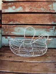 Shabby Chic Wire Basket by Vintage Shabby Chic Wall Shelf Distressed Chippy Antique Off White